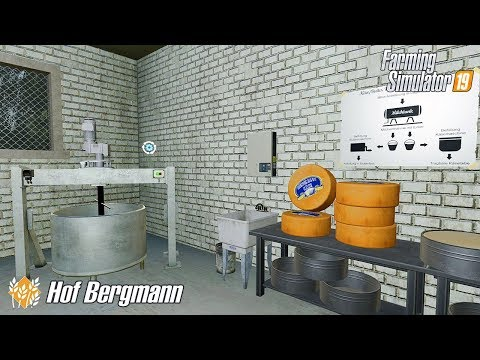 Produkcja Sera. - Hof  Bergmann FS19 ☆ Farming Simulator 19 ☆  #10 ㋡ Anton