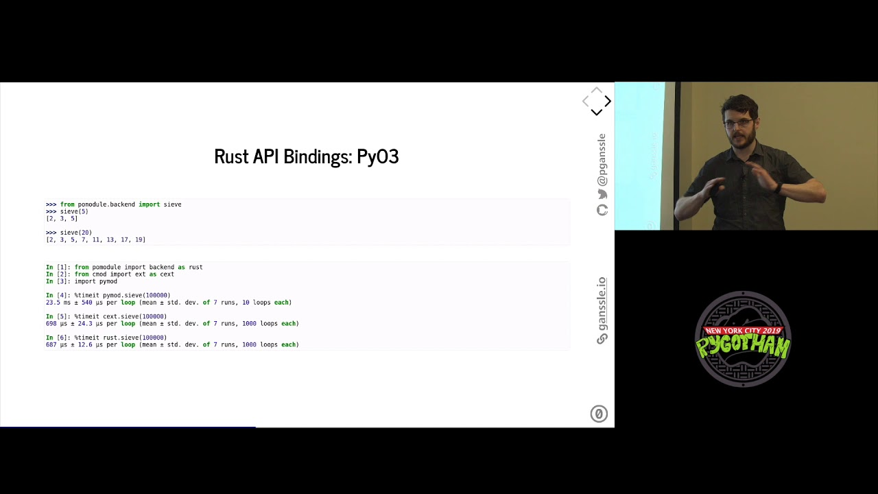 Image from Build your Python Extensions with Rust!