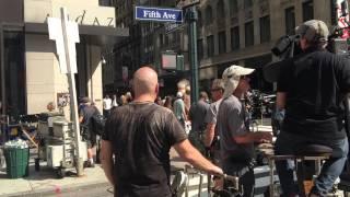 Съемки фильма 5 авеню Нью-Йорк(, 2015-08-03T06:11:32.000Z)