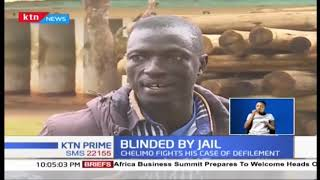 Ezekiel Chelimo arrested in 2010 become blind while in jail after using welding machine