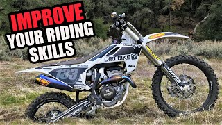 How to improve dirt bike riding skills