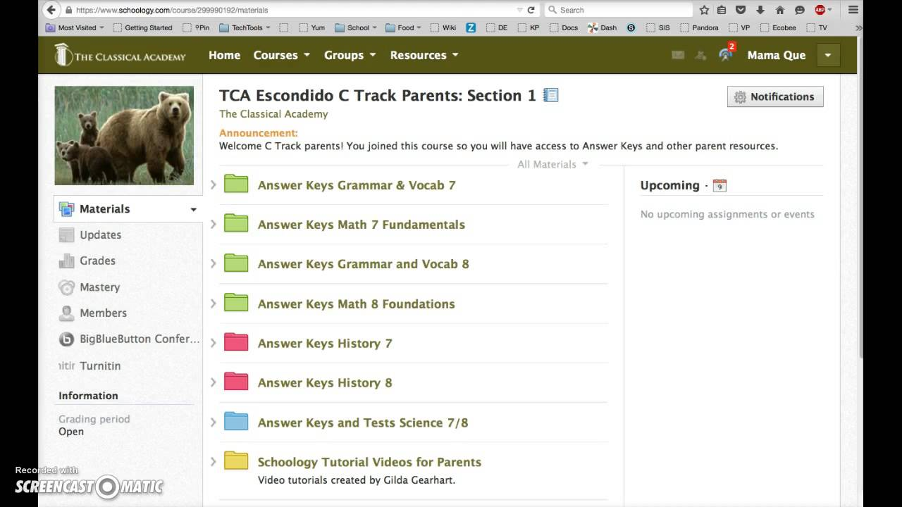 how to make a group on schoology