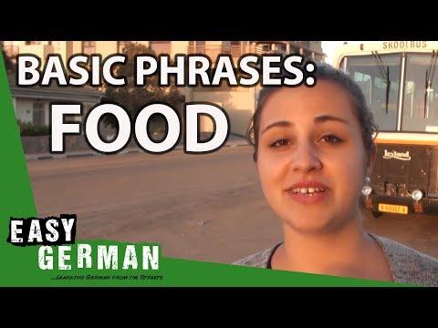 Tiếng Đức bài 24: Bạn muốn ăn gì?