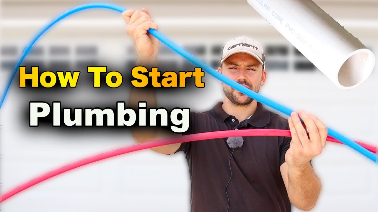How To Start Plumbing A House