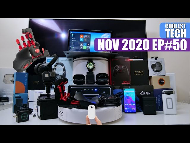 Coolest Tech of the Month NOV 2020  - EP#50 - Latest Gadgets You Must See!