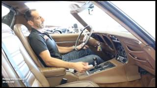 72 corvette stingray t top for sale with test drive driving sounds and walk through video