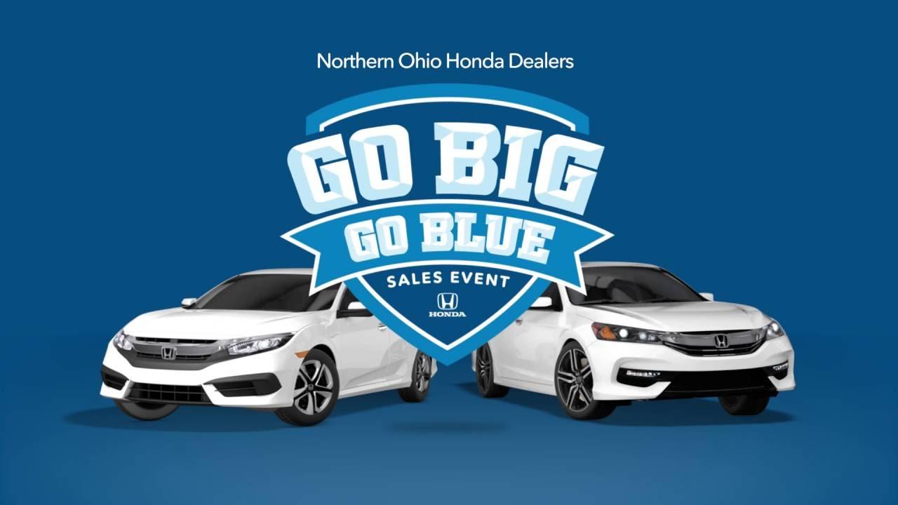Honda Dealers Cleveland >> Cleveland Auto Show Go Big Go Blue 2016 Honda Civic And Accord