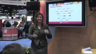 Lasermax Roll Systems Presentation at Graph Expo (Emilie Barta, Trade Show Presenter)