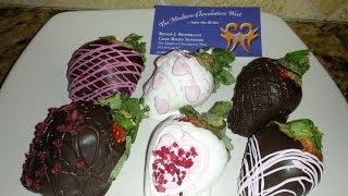 "The Madison Chocolatiers West ""valentine's Day Strawberries"""