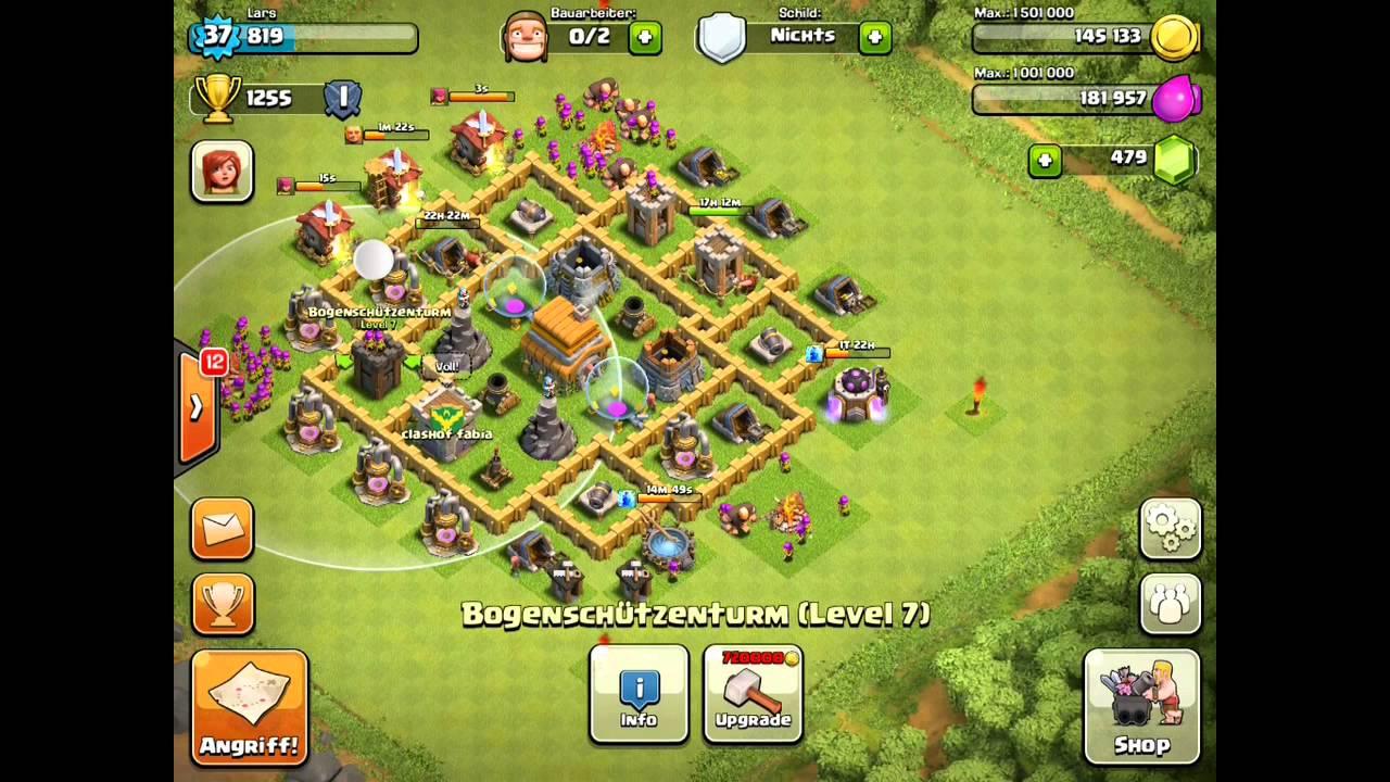 [Clash Of Clans] - Beste Verteidigung - Rathaus Level 6 ...