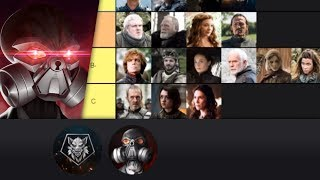 Mauler and Wolf Rank the Game of Thrones Characters - Spoilers.