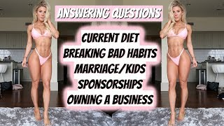ANSWERING QUESTIONS | Marriage, Diet, Making New Friends, Weaknesses, Breaking Bad Habits & More!