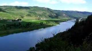 The Tumen River - Border between North Korea and China