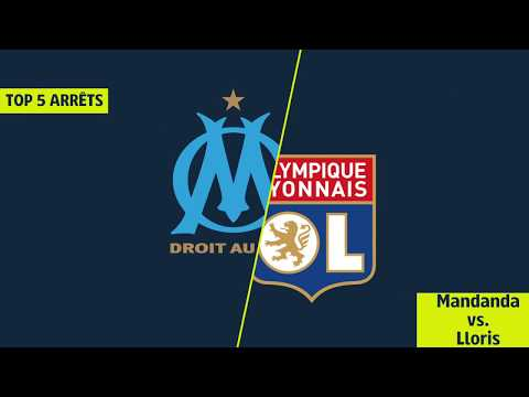 Top 5 arrêts Lloris / Mandanda - OM/OL [LIGUE 1 LEGENDS]