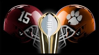 "Alabama vs. Clemson Pump Up - ""The Rematch"""
