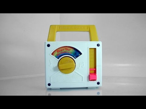 Fisher Price Over The Rainbow Musical Movement Toy Radio # 794