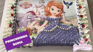 Bolo princesinha Sofia