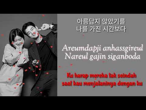 OST Part 7 My ID Is Gangnam Beauty SUB INDO   차은우 (ASTRO) Cha Eun Woo –RainbowFalling Lyrics