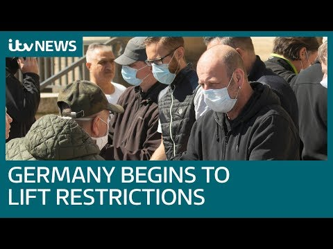 Germany starts to ease restrictions amid coronavirus pandemic | ITV News