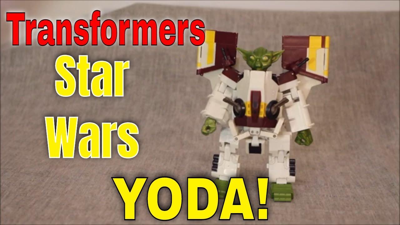 Transformers, I am: Transformers / Star Wars Crossover Yoda By GotBot