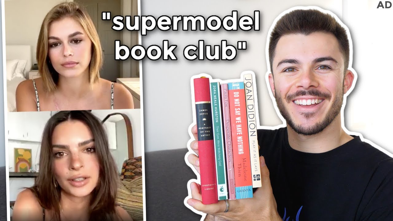 i joined supermodel book clubs and judged their reading recs (em-rata, kaia gerber, camille rowe)