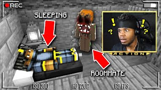 Something is Wrong With my ROOMMATE… I Moved OUT! (Minecraft) *SCARY*