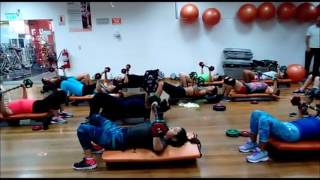 Bodypump 100 con Dina Morales y Américo Estela   14/1/2017