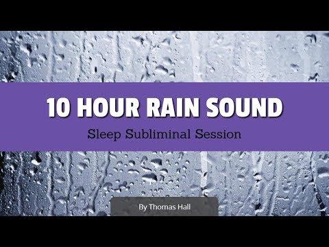 Enjoy Exercising – (10 Hour) Rain Sound – Sleep Subliminal – By Thomas Hall