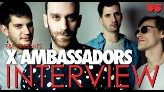 X Ambassadors Interview | Jungle