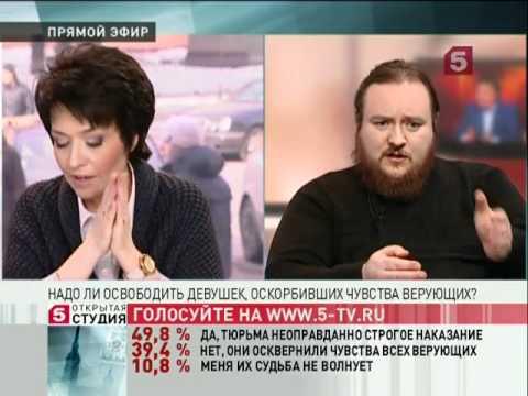 видео: Егор Холмогоров против Александра Невзорова о pussyriot