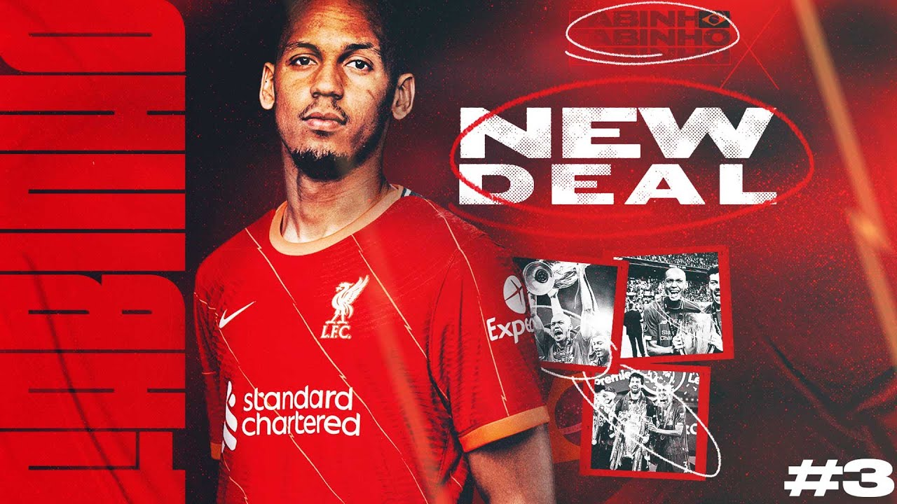 Fabinho agrees a new deal with Liverpool FC | 'It's the best place to keep growing'