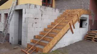 Monolitické schodiště