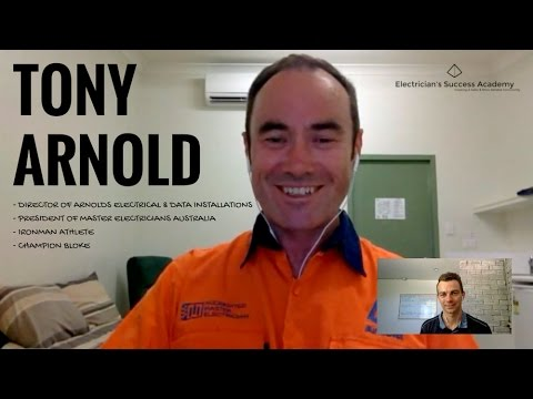 Successful Electricians - Tony Arnold
