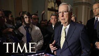 Democrat And Republican Senators Discuss New Details Of Secretive GOP Health Care Bill | TIME thumbnail