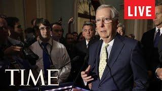 Senate Makes Health Care Announcement | LIVE | TIME