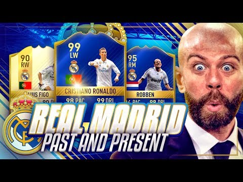 PAST AND PRESENT REAL MADRID - THE BEST TEAM EVER - FIFA 17 Ultimate Team