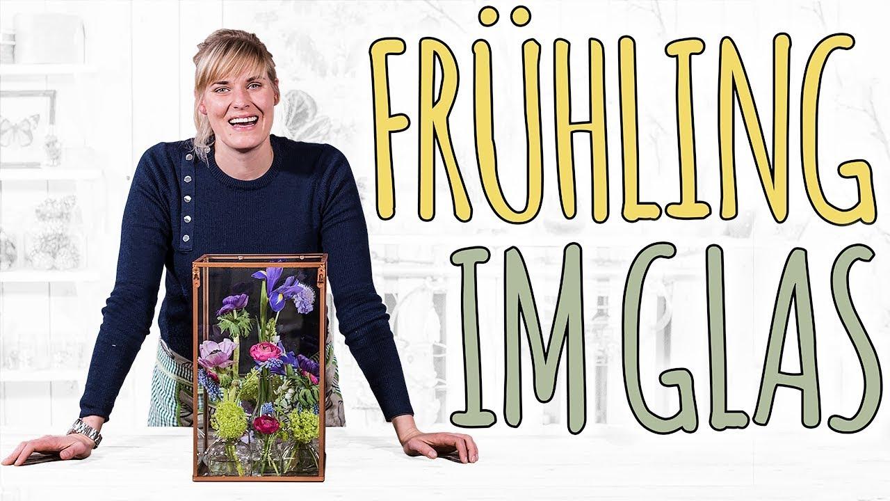 Fruhling Im Glas Deko Ideen Diy Youtube