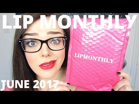 LIP MONTHLY UNBAGGING | I