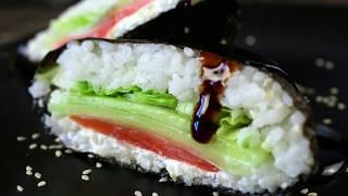 Как приготовить Суши-сэндвич Oнигиразу | Простой рецепт
