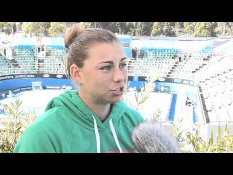 Off The Court - Vera Zvonareva: Australian Open 2011