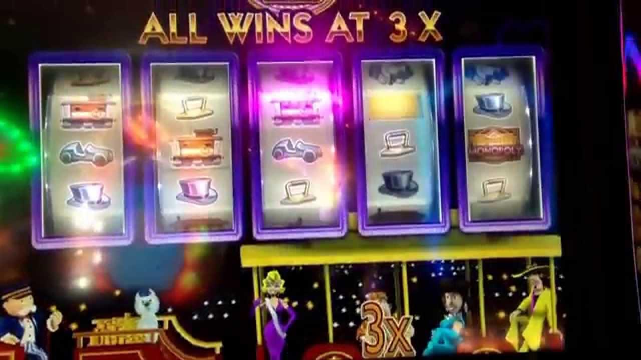 Monopoly party train slot machine online games