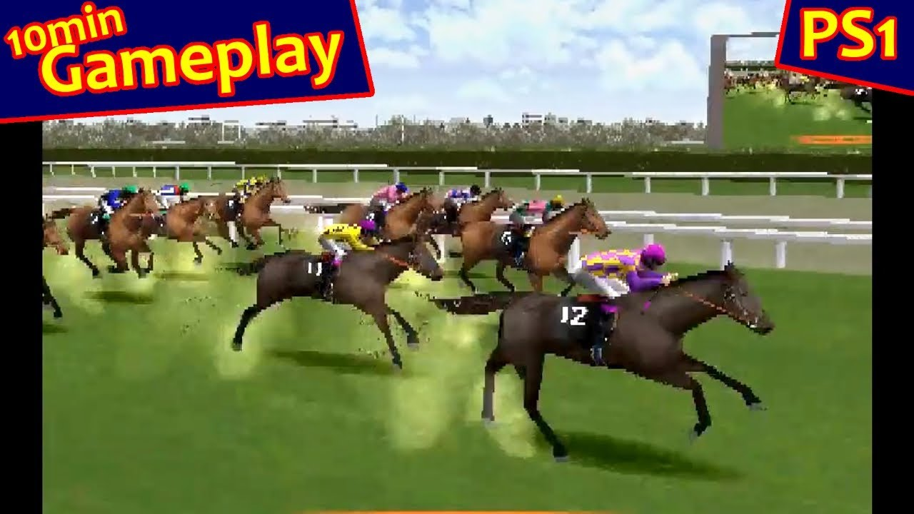 Gallop Racer PS1 60fps