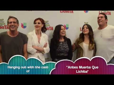 Antes Muerta Que Lichita Meet The Cast Youtube