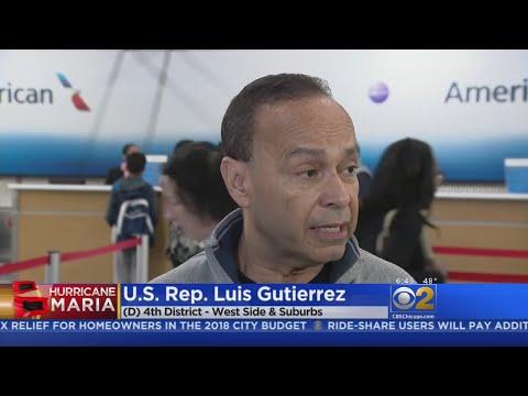 Congressman Gutierrez Makes Second Relief Trip To Puerto Rico