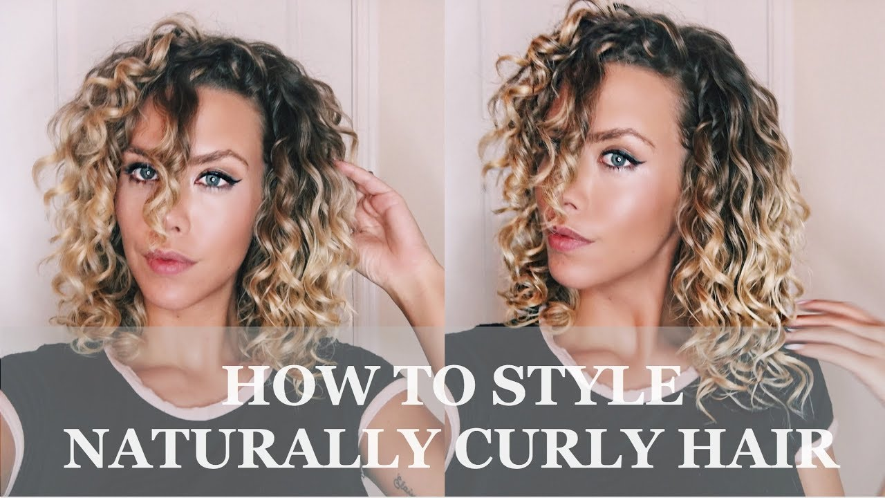 how to style wavy hair how to style your naturally curly hair deva curl tutorial 2345
