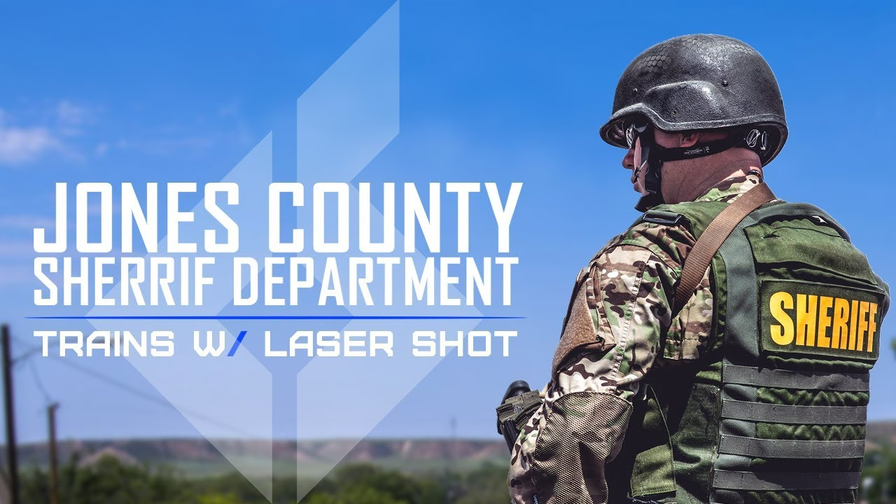 Jones County Sheriff Dept. trains with Laser Shot