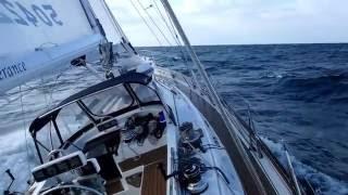 Enjoy an offshore sail aboard Perseverance as she blasts winward.
