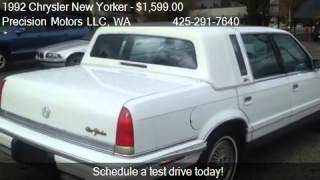 1992 Chrysler New Yorker Fifth Avenue for sale in Renton, WA