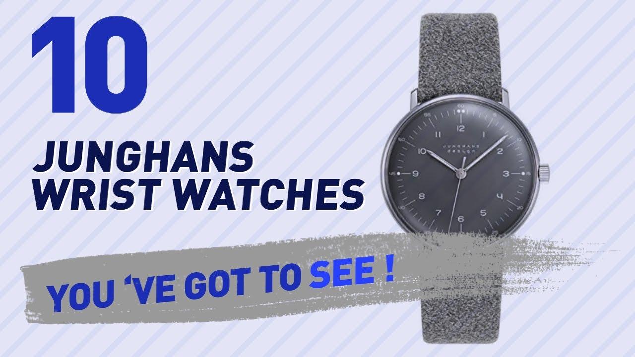 f83dd5b21e4b8 Junghans Wrist Watches For Men    New   Popular 2017 - YouTube