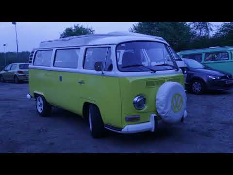 Retro VW Presence In The UK (College Major Project)